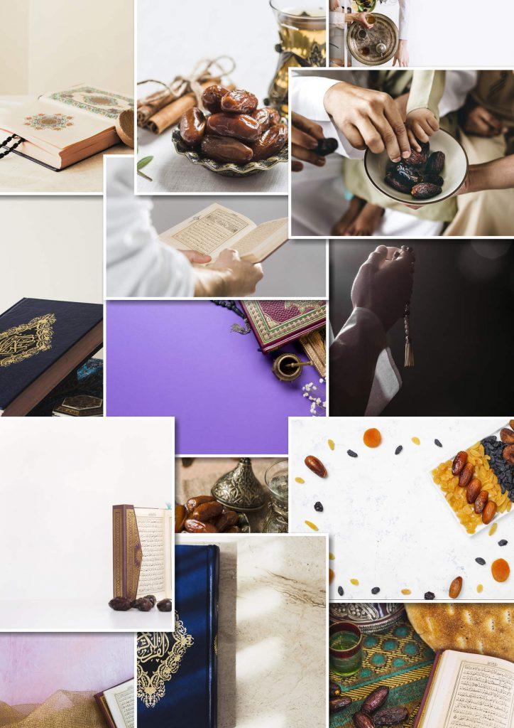 دانلود تصاویر بکگراند ماه رمضان برای طراحی سایت ویزی