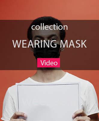 دانلود ویدیو فوتیج ماسک زدن - ویزی